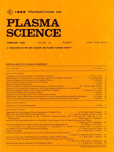 Transactions on Plasma Science